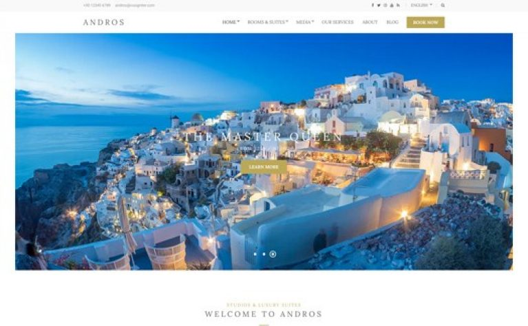 CSS Igniter Andros WordPress Theme - Gpl Pulse