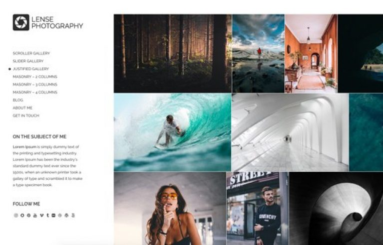 CSS Igniter Lense WordPress Theme - Gpl Pulse