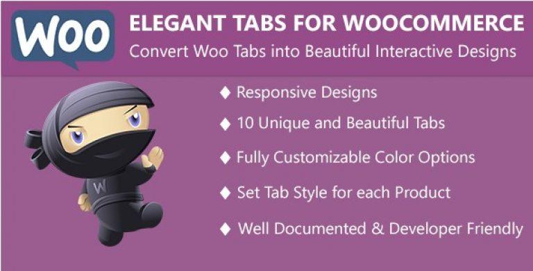 Elegant Tabs for WooCommerce - Gpl Pulse