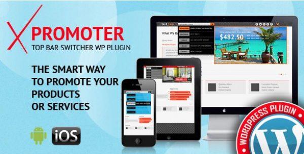 xPromoter – Top Bar Switcher Responsive WordPress Plugin - Gpl Pulse