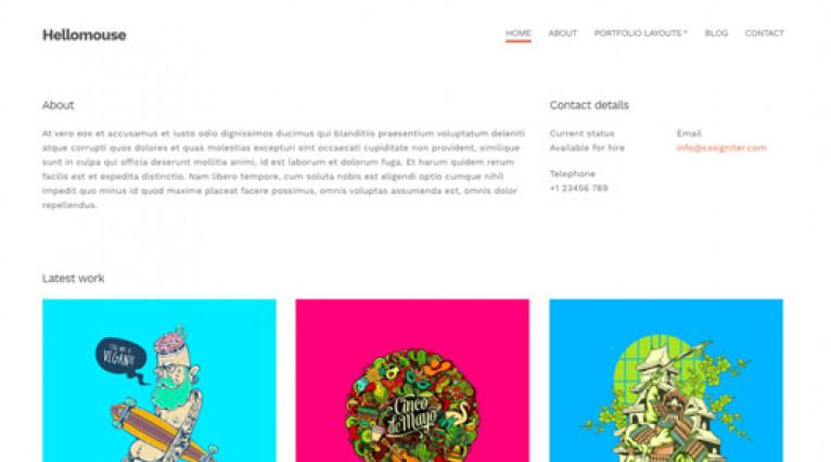 CSS Igniter Hellomouse WordPress Theme - Gpl Pulse