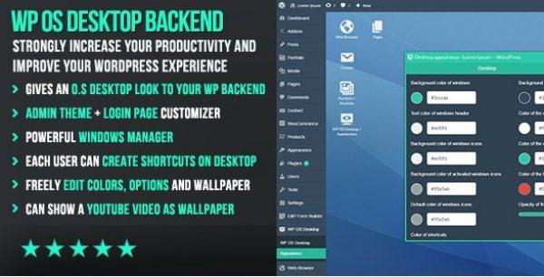 WP OS Desktop Backend - Gpl Pulse