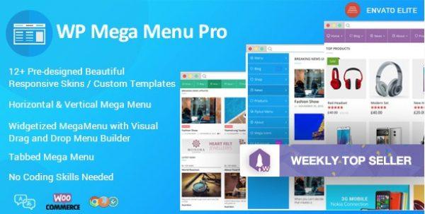 WP Mega Menu Pro – Responsive Mega Menu Plugin for WordPress - Gpl Pulse