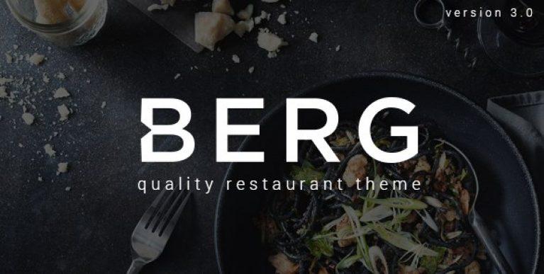 BERG – Restaurant WordPress Theme - Gpl Pulse