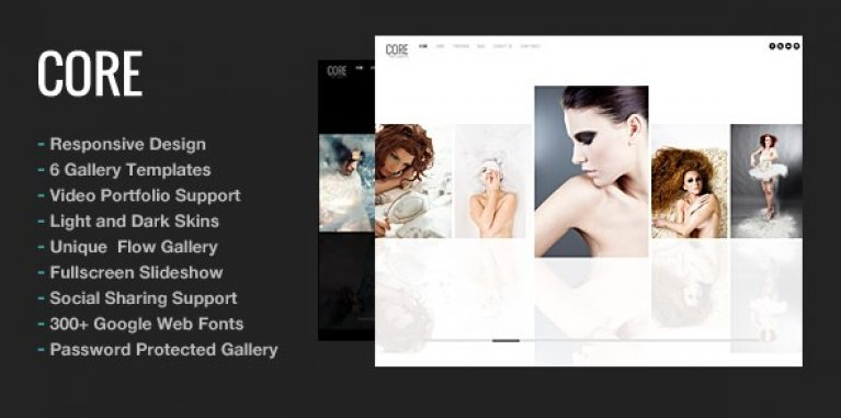 Core Minimalist Photography Portfolio - Gpl Pulse
