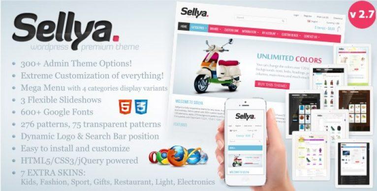 Sellya – Responsive WooCommerce Theme - Gpl Pulse