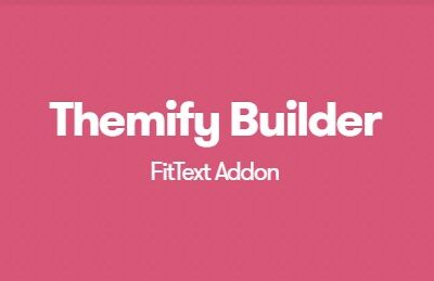 Themify Builder FitText Addon - Gpl Pulse