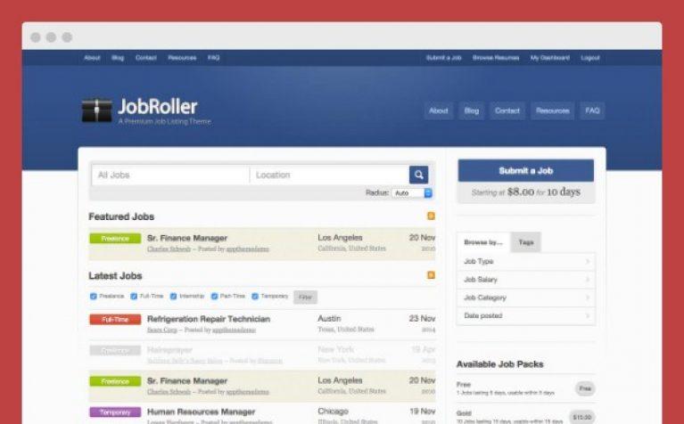 AppThemes JobRoller WordPress Themes - Gpl Pulse
