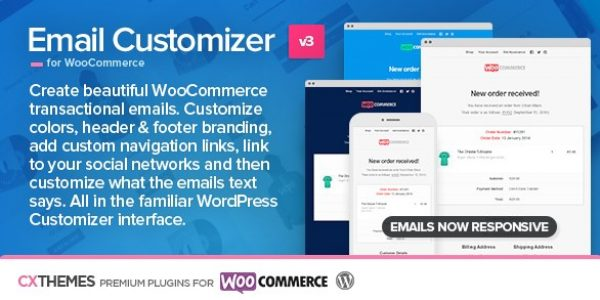 Email Customizer For WooCommerce - Gpl PUlse