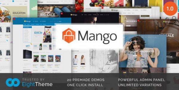Mango – Responsive Woocommerce Theme - GPl Pulse