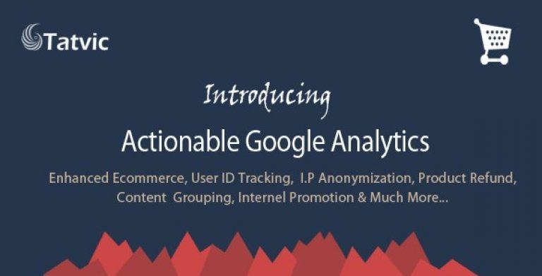Actionable Google Analytics for WooCommerce - Gpl Pulse