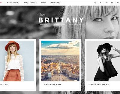 CSS Igniter Brittany WordPress Theme - Gpl Pulse