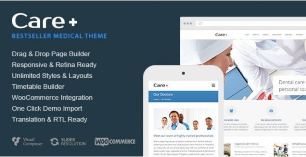 Care – Medical and Health Blogging WordPress Theme - Gpl Pulse