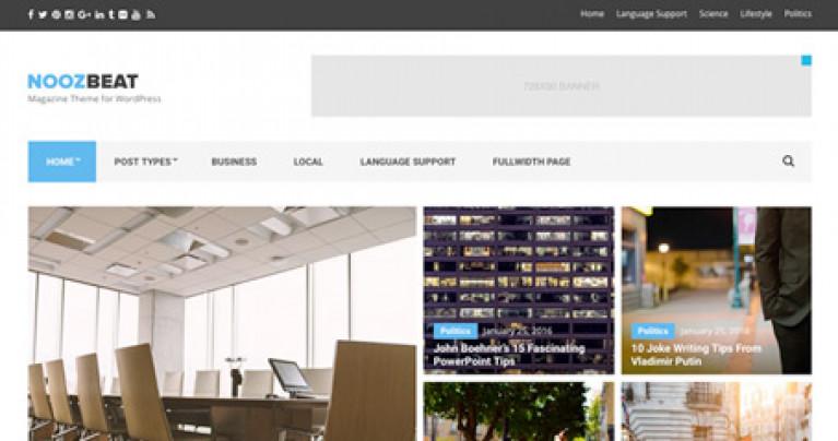 CSS Igniter Noozbeat WordPress Theme - Gpl Pulse