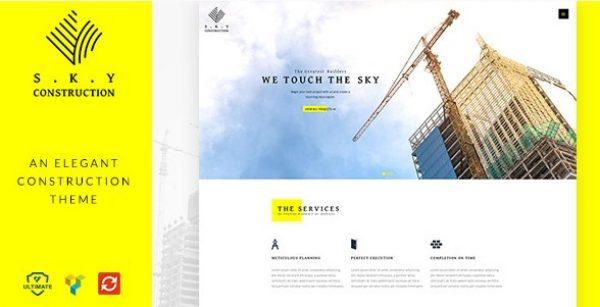 Construction – Responsive Construction Theme - Gpl Pulse