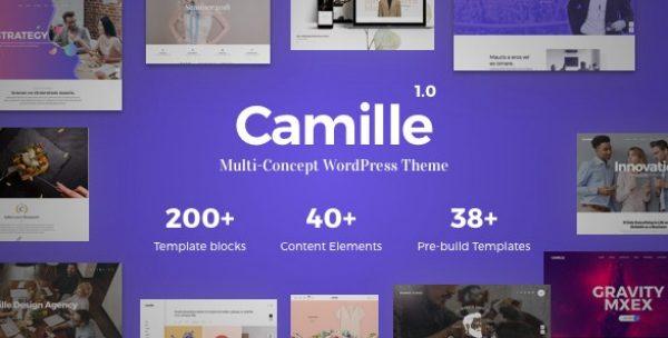 Camille – Multi-Concept WordPress Theme - Gpl Pulse