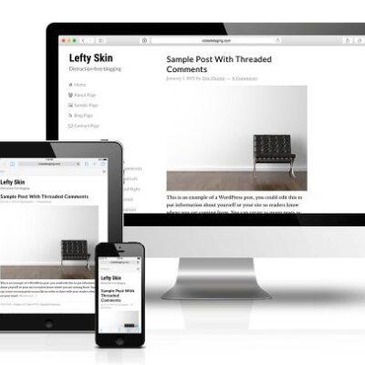 CobaltApps Lefty Skin For Dynamik Website Builder - Gpl Pulse
