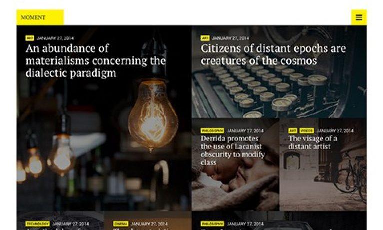 CSS Igniter Moment WordPress Theme - Gpl Pulse