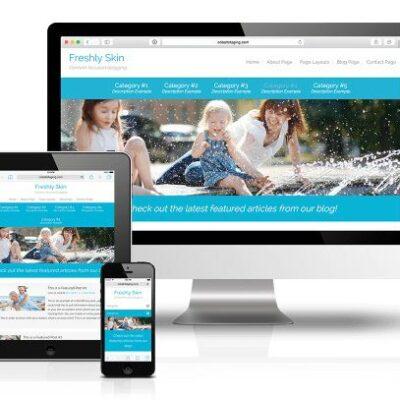 CobaltApps Freshly Skin for Dynamik Website Builder - Gpl Pulse