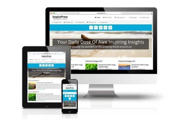 CobaltApps InspirePress Skin for Dynamik Website Builder - Gpl Pulse