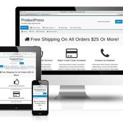CobaltApps ProductPress Skin for Dynamik Website Builder - Gpl Pulse