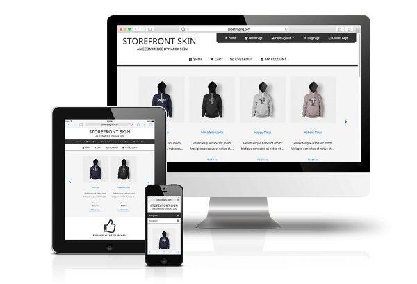 CobaltApps StoreFront Skin for Dynamik Website Builder - Gpl Pulse