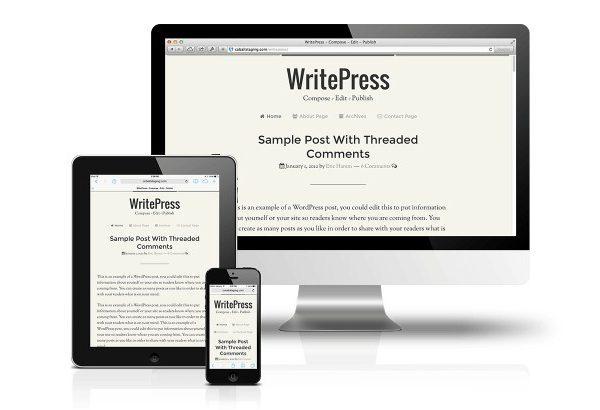 CobaltApps WritePress Skin for Dynamik Website Builder - Gpl Pulse