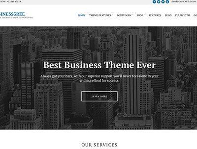CSS Igniter Business3ree WordPress Theme - Gpl Pulse