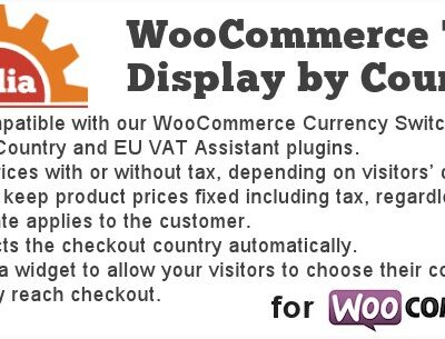 Tax Display by Country for WooCommerce - Gpl Pulse