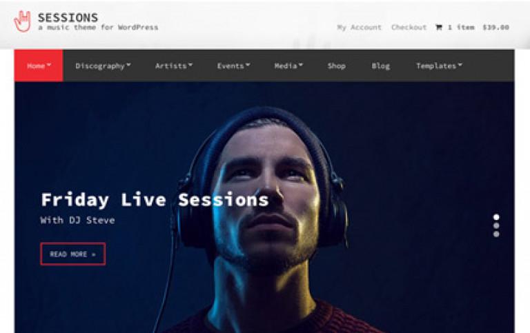 CSS Igniter Sessions WordPress Theme - Gpl Pulse