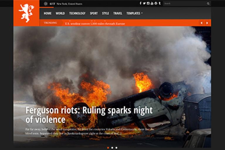 CSS Igniter Tabloid WordPress Theme - Gpl Pulse