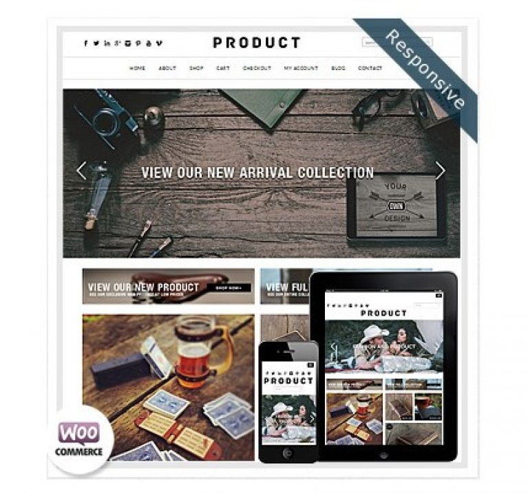 Dessign Product WooCommerce Themes - GPl Pulse