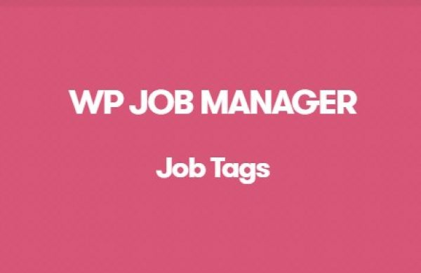 WP Job Manager Job Tags Addon - Gpl Pulse
