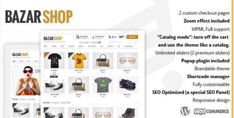 Bazar Shop – Multi-Purpose e-Commerce Theme - Gpl Pulse