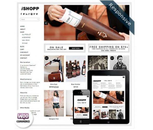 Dessign iShopp WooCommerce Themes - Gpl Pulse