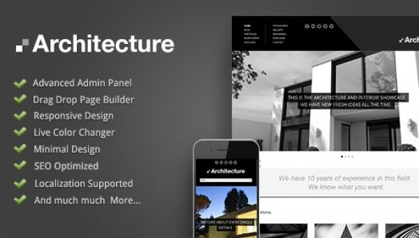 Architecture – WordPress Theme - Gpl Pulse