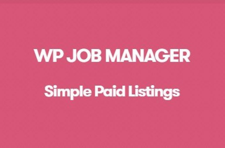 WP Job Manager Simple Paid Listings Addon - Gpl Pulse