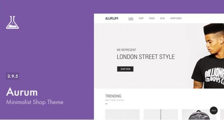 Aurum – Minimalist Shopping Theme - Gpl Pulse
