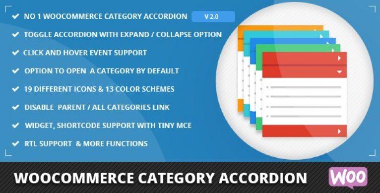 WooCommerce Category Accordion - Gpl PUlse