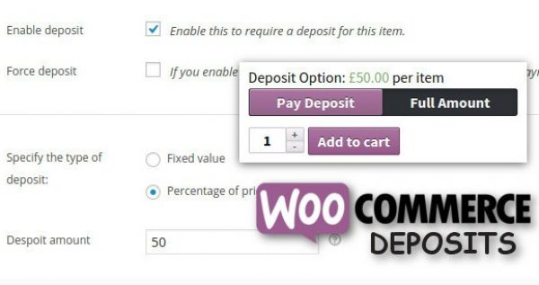 WooCommerce Deposits Partial Payments Plugin - Gpl PUlse