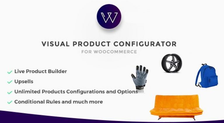 Woocommerce Visual Products Configurator - GPl PUlse
