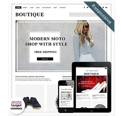 Dessign Boutique WooCommerce Themes - Gpl Pulse