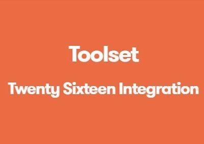 Toolset Twenty Sixteen Integration - Gpl Pulse