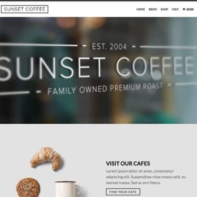 OboxThemes Sunset Coffee WooCommerce Themes - Gpl pulse