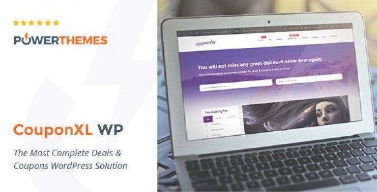 CouponXL – Coupons, Deals & Discounts WP Theme - Gpl Pulse