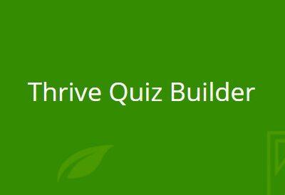 Thrive Quiz Builder - Gpl Pulse