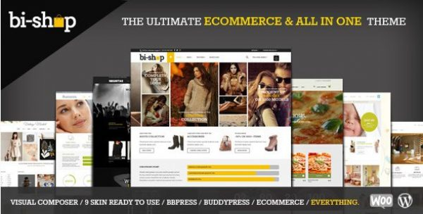 Bi-Shop All In One – Ecommerce & Corporate Theme - Gpl Pulse