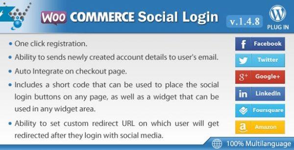 WooCommerce Social Login By Wpweb - Gpl Pulse