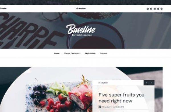 Array Themes Baseline WordPress Theme - Gpl Pulse