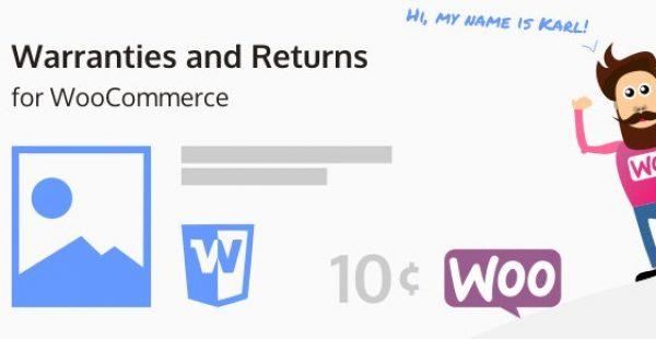 Warranties and Returns for WooCommerce - Gpl PUlse